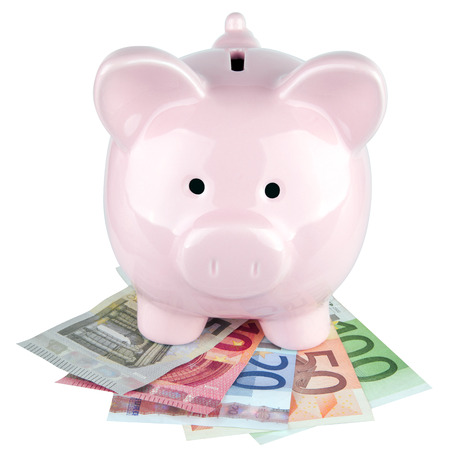 thrift box: Piggy bank Stock Photo