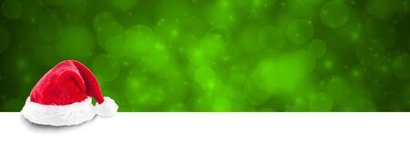 christmas banner green