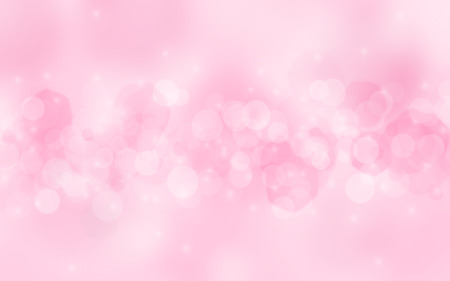 stars  background: pink abstract blurred background Stock Photo