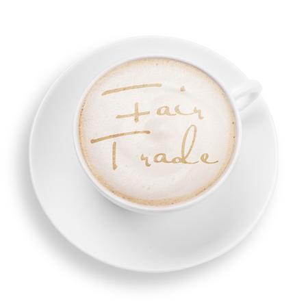 trade fair: fair trade coffee