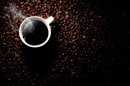 tazas de cafe: humeante taza de caf�