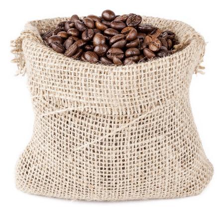 isolated coffee sack