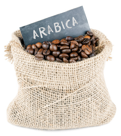 coffee sack: arabica coffee