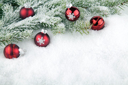 Christmas background Standard-Bild - 39023989