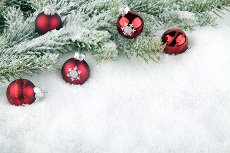 abetos: Navidad de fondo