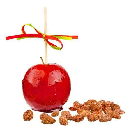 candied: candied apple