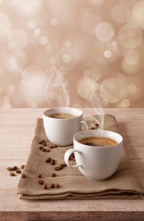 coffee background Imagens