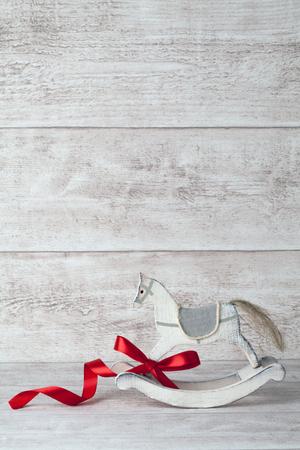 rocking: rocking horse background Stock Photo