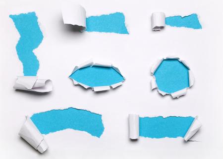 blue paper set