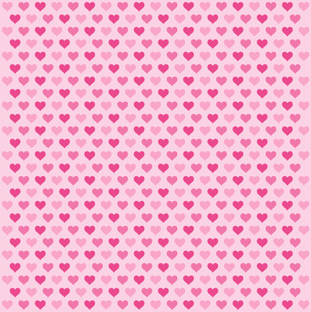 hearts background: pink hearts background