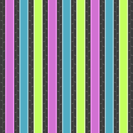 neon plant: colorful stripes background