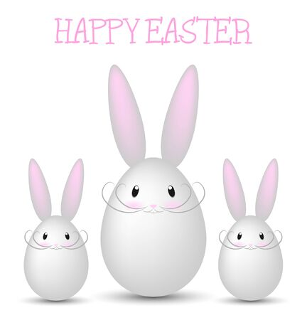 funny easter: happy easter bunnies