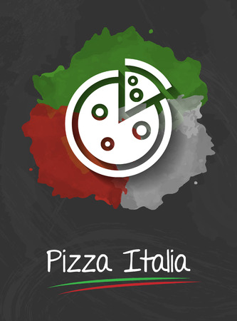 italia: pizza italia background
