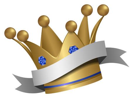 prin: corona de oro