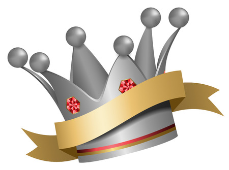 silver: silver crown