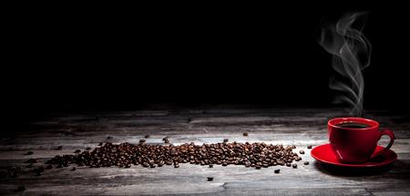 frijoles rojos: café de fondo