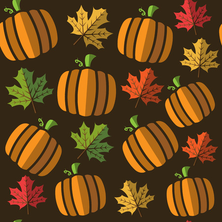 white patches: seamless pumpkin pattern background