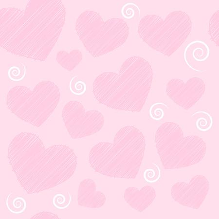 corazones de fondo sin fisuras