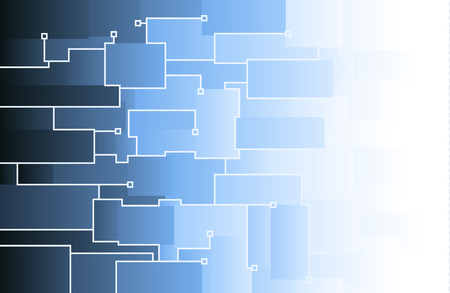 squares background: blue squares background vector