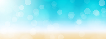 summer beach banner background illustration Imagens - 41189303