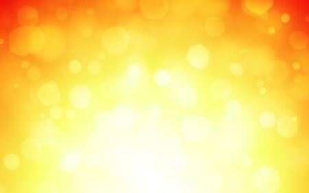 golden dusk: sun background illustration