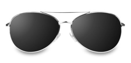 sunglasses reflection: isolated sunglasses