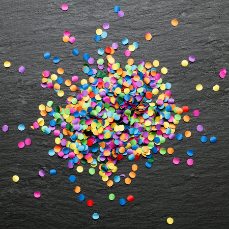 colorful: colorful confetti background