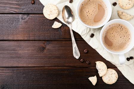 cups of coffee: coffee cups Stock Photo