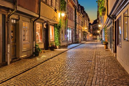 laterns: Erfurt German city