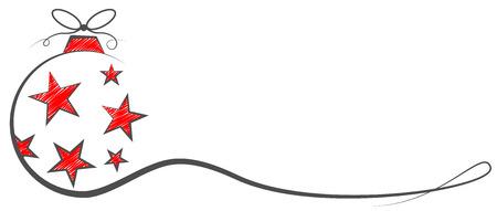 christmas bauble vector Vector Illustration