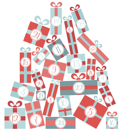 842 Advent Calendar Stock Vector Illustration And Royalty Free ...