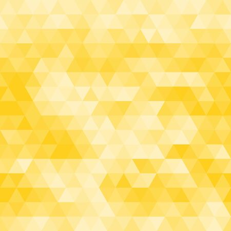 triangle pattern: seamless golden background pattern Illustration