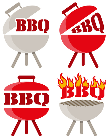 fleming: barbecue bbq vector icon