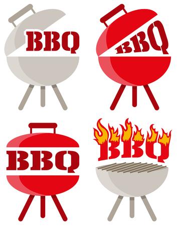 barbecue vector icon Vector Illustratie