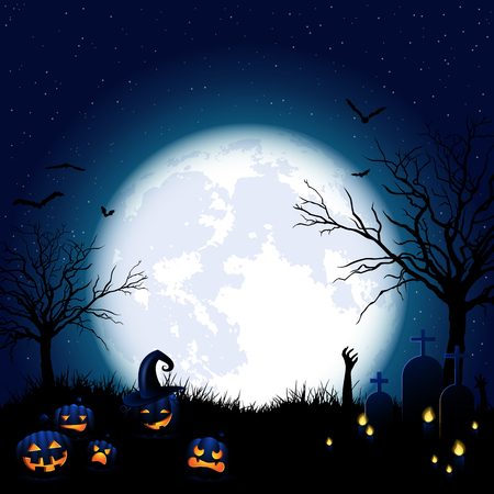 asked: halloween background