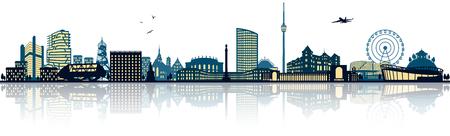 Stuttgart skyline (germany)
