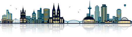 cologne skyline (germany)