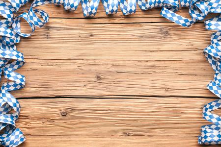 Oktoberfest wooden background