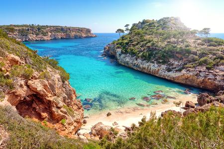 Calo des moro, Mallorca, Spain Imagens