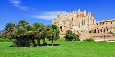 Palma cathedral Majorca Mallorca Spain