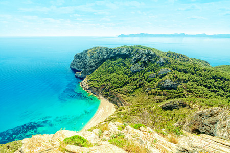 Platja of the Coll Baix, Alcudia, Mallorca, Balearic Islands, Spain