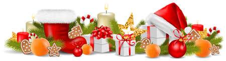 Christmas decoration ornament isolated 矢量图像