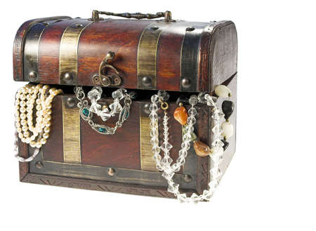 Antique box and jewelery