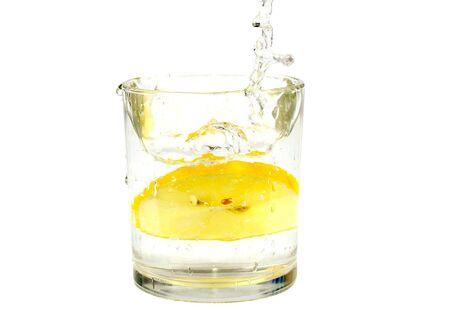 bubble acid: Water with lemon