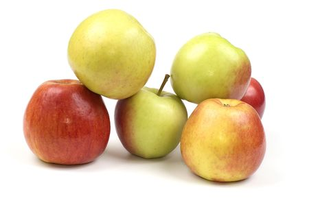 conceptions: pile of apples Stock Photo