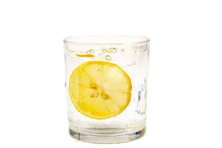 bubble acid: Lemon water