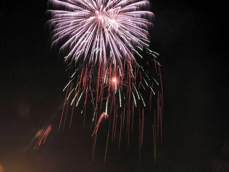 artifice: Fireworks  Stock Photo
