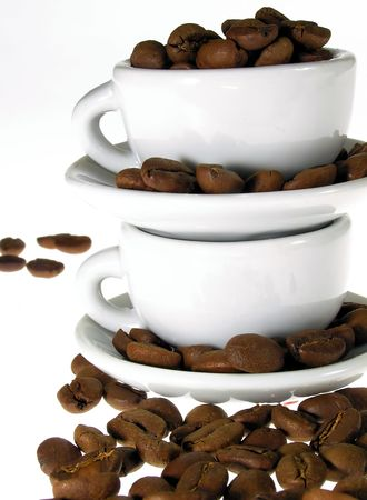 infusing: Coffee cups      Stock Photo