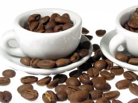 infusing: Coffee   Stock Photo