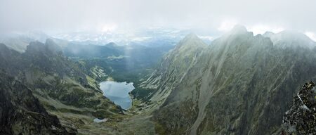 orla: Tatras mountains panorama Stock Photo